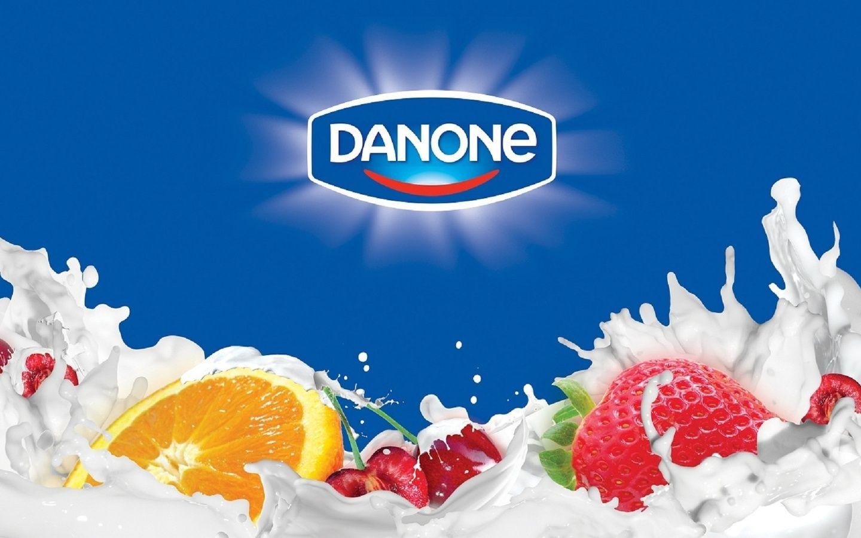Баннер Danone: